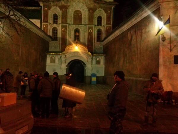 Прот. Георгий Коваленко: со сцены Майдана призвали людей идти к Лавре