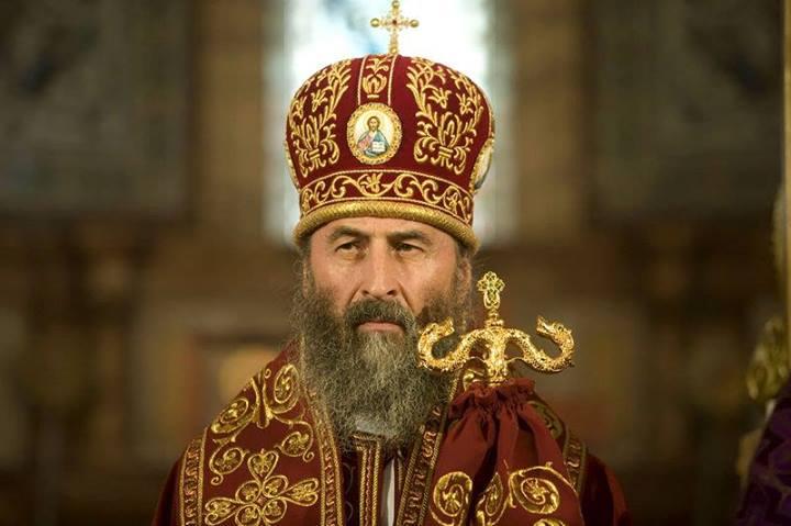 Местоблюститель Киевской кафедры митрополит Онуфрий: «Церковь должна идти за Христом, а не за политиками»