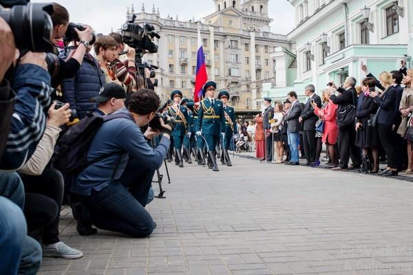 Торжественный марш Роты Почётного караула военной комендатуры города Москвы.