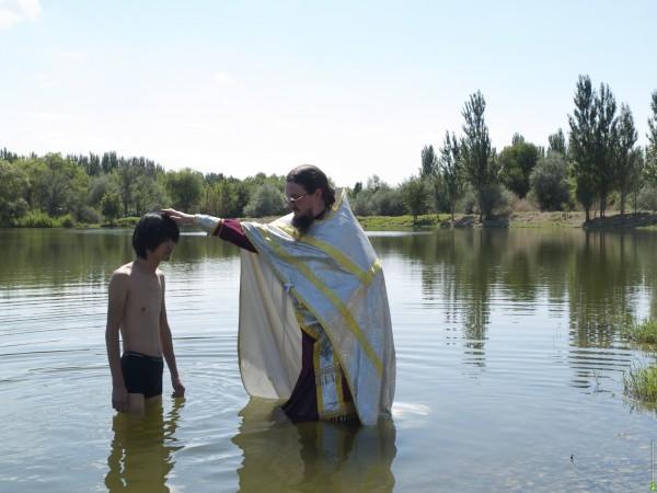 Крещение в Киргизии.