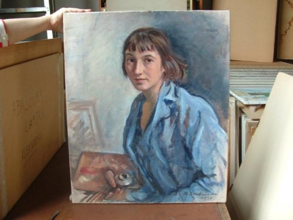 Зинаида Серебрякова. Автопортрет