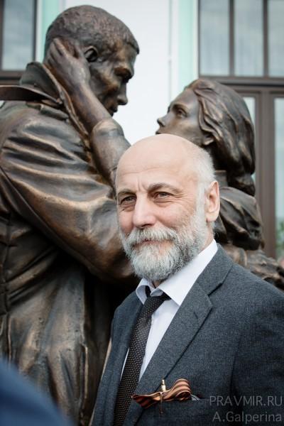 Народный художник России, скульптор Салават Щербаков
