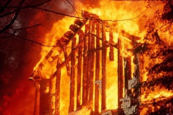 На территории храма в Бурятии произошел пожар