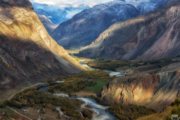 Андрей Грачев. Долина реки Чулышман