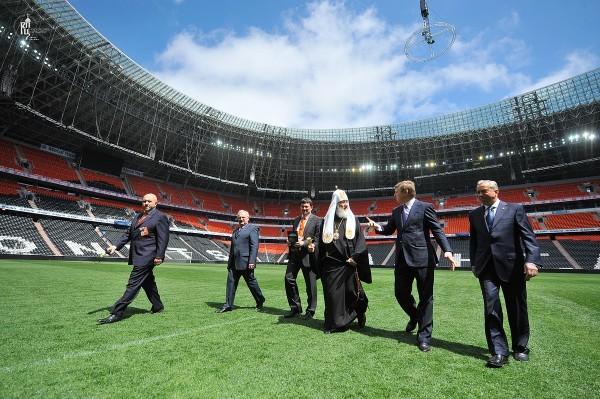 Посещение стадиона «Донбасс Арена» в г. Донецке