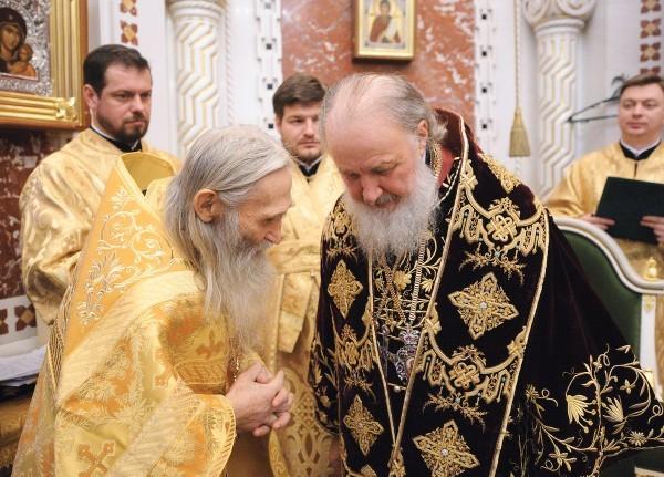 Божественная литургия в Храме Христа Спасителя в годовщину интронизации Святейшего Патриарха Кирилла