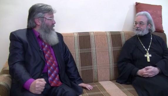 Владимир Лавров и прот. Александр Ильяшенко
