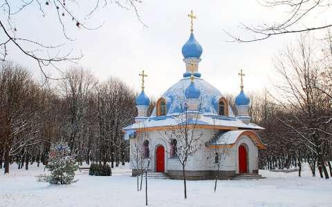 Храм св. Спиридона Тримифунтского на Борщаговке. Фото: spiridon.in.ua