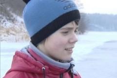 В Калининградской области школьник спас провалившегося под лед ребенка