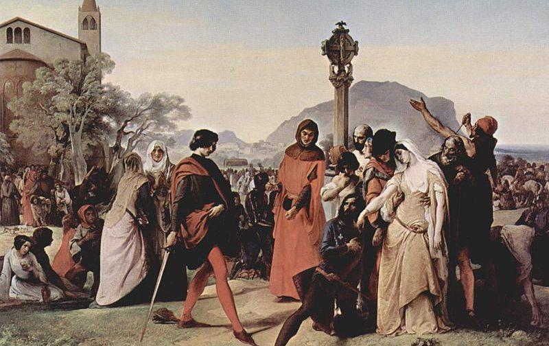Роль византийско-арагонского тайного союза в подготовке «сицилийской вечерни»