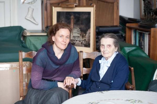 Анастасия Николаева с Екатериной Серебряковой