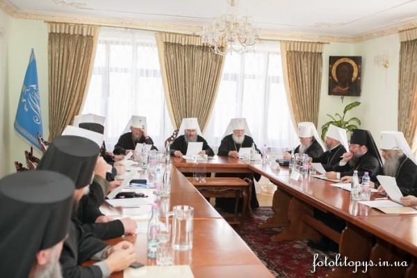 Обращение Священного Синода УПЦ к епископату, духовенству, монашествующим и мирянам в связи с последними событиями в Украине