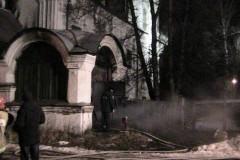 В Вологде подожгли церковь XVIII века