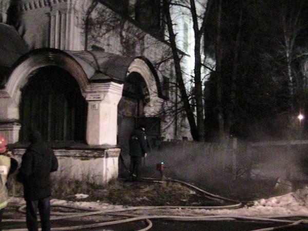 Вологодская епархия поможет возродить подожженный храм