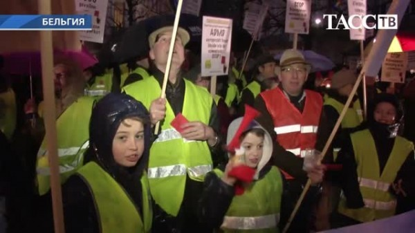 В Бельгии прошла демонстрация против закона об эвтаназии для детей