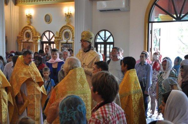 Архиепископ Егорьевский Марк освятил храм в Бангкоке