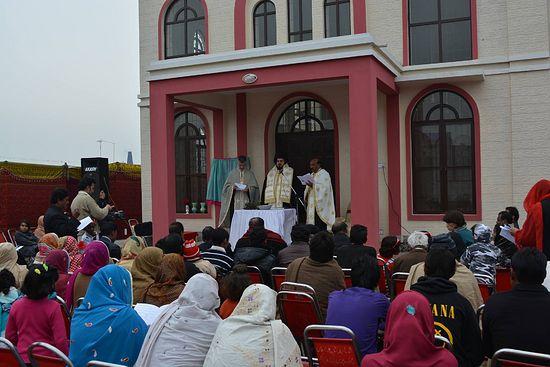 В Пакистане прошла церемония открытия первого православного храма