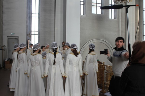 Красноярский детский духовный хор снялся в кино