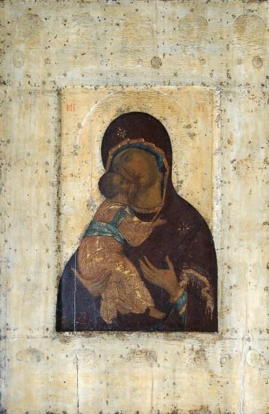 Владимирская икона Божией Матери. Андрей Рублёв