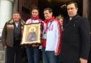 Для олимпийских сборных России, Украины, Белоруссии и Молдавии написали иконы прп. Сергия Радонежского
