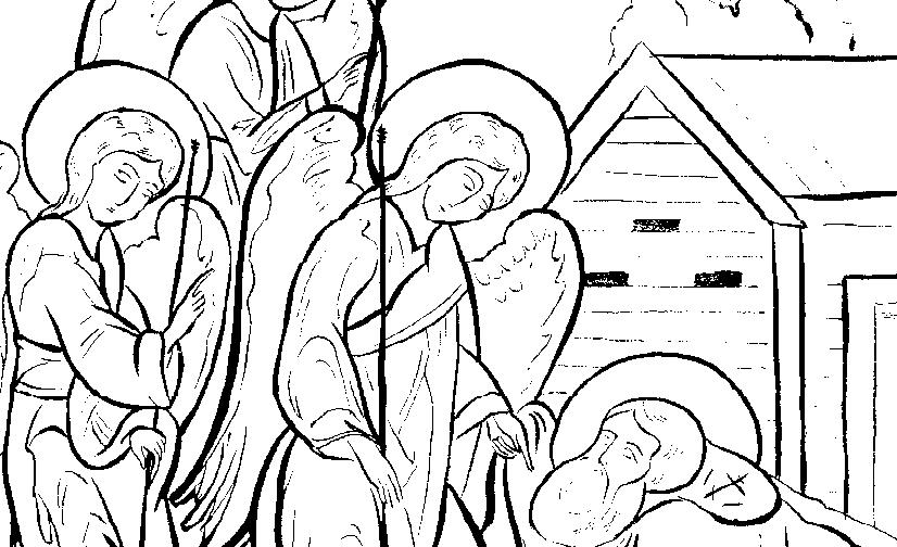Преподобный Александр Свирский и святитель Макарий, митрополит Московский