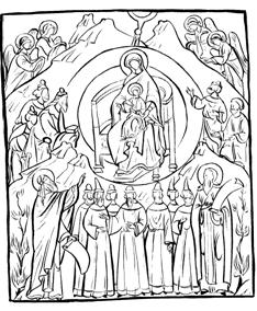 Рис. 4. Собор Богоматери. Современная икона.