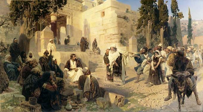 Неделя о Страшном Суде, семь мужей одной жены и жена, взятая в прелюбодеянии