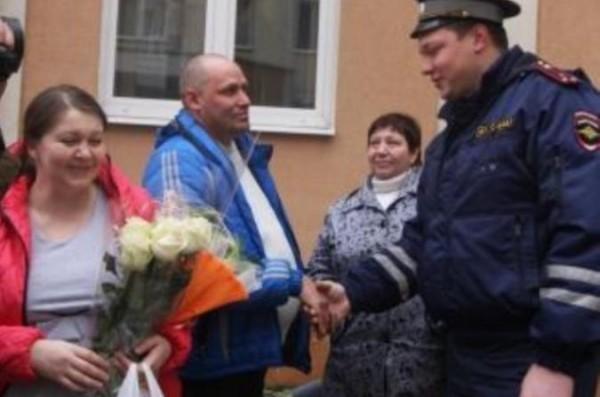 В Калининграде инспектор ДПС спас жизнь роженице и ребенку