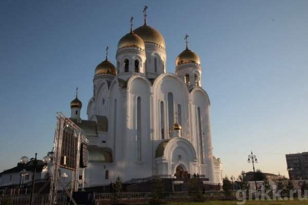 Мощи святого Валентина прибыли в Красноярск