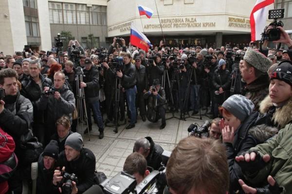 Президиум Крыма обратился к жителям полуострова с предложением об автономии