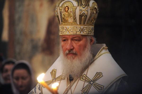 """Патриарх Кирилл: """"Помолимся о прекращении раздора и смуты на Украине!"""""""