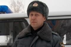 Пермский полицейский вынес из огня инвалида