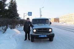 В Омской области участковый спас из огня двух пенсионеров