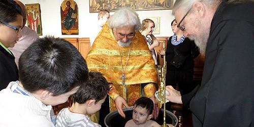 Коренные бельгийцы принимают православие
