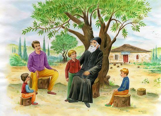 Рассказы о старце Паисии