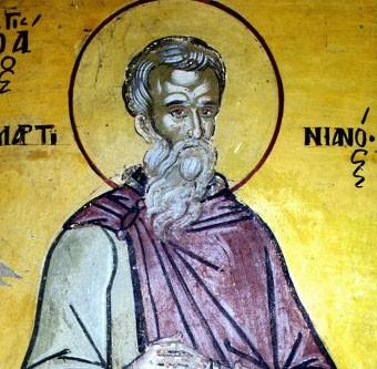 Церковь чтит память преподобного Мартиниана Кесарийского