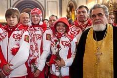 Олимпиада в православной стране