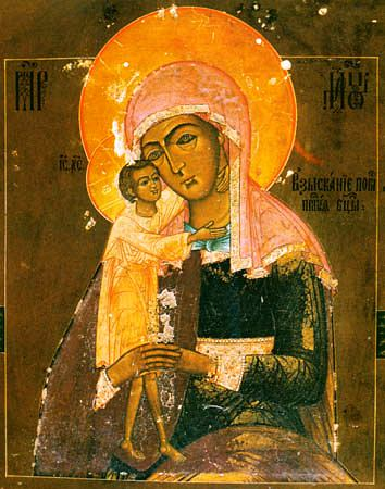 Русская Церковь празднует день иконы Божией Матери «Взыскание погибших»