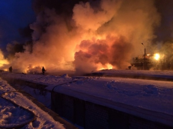Более 400 человек эвакуированы в Кировской области в связи со взрывами цистерн с газом