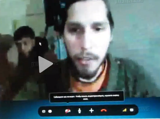 Русский пленный в Сирии: Помните о том, что есть Бог, даже если они меня убьют