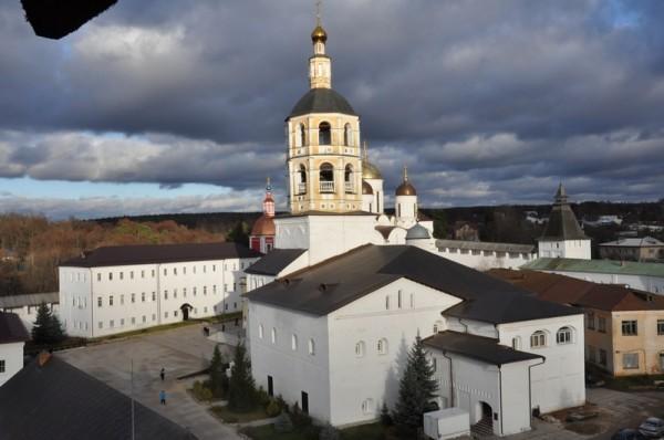 Вид Боровского монастыря