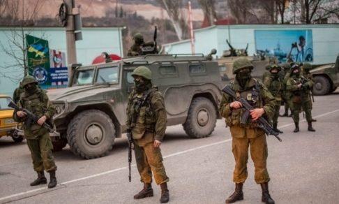 Войска в Крыму