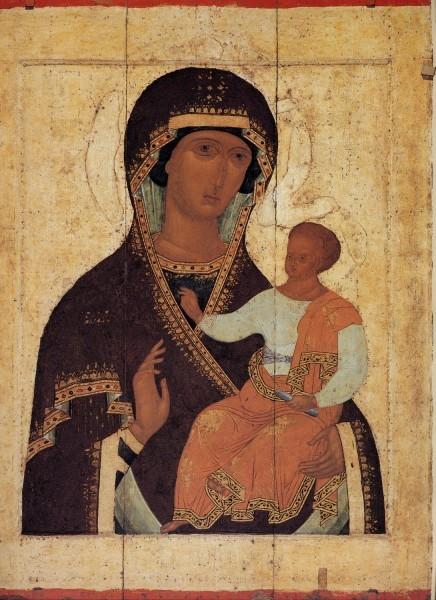 """Икона Божией Матери """"Одигитрия"""". Дионисий и мастерская. Около 1502-1503 гг."""