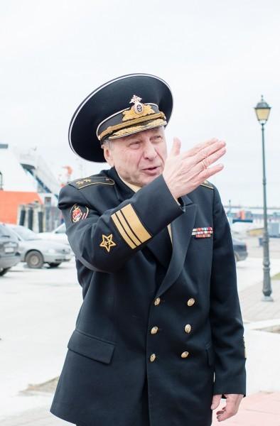 "Президент фонда ""Омофор"" вице-адмирал Александр Бражник"