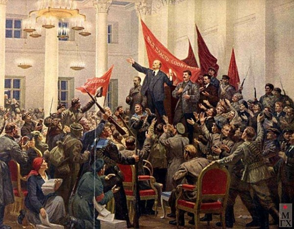 П. П. Соколов-Скаля. 2 съезд Советов