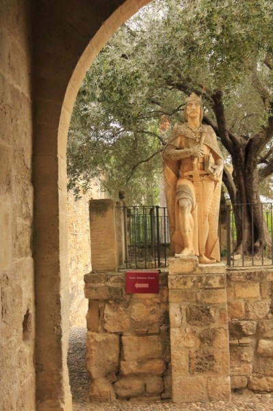 Памятники королям-католикам (Алькасар в Кордове)