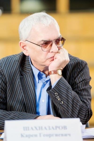 Генеральный директор «Киноконцерна «Мосфильм» Карен Шахназаров