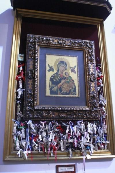 Икона Божией Матери Страстная в храме свв. мучеников в Малаге
