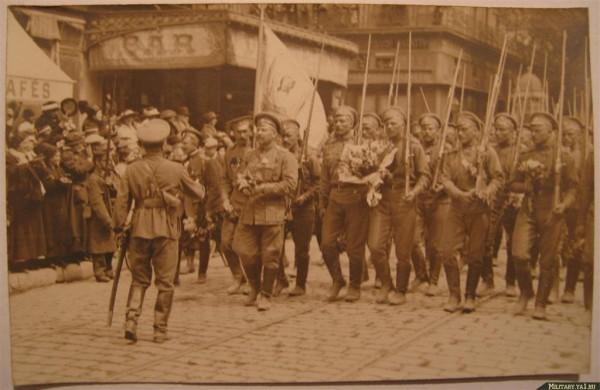 Первая мировая. Расстрел русских во Франции
