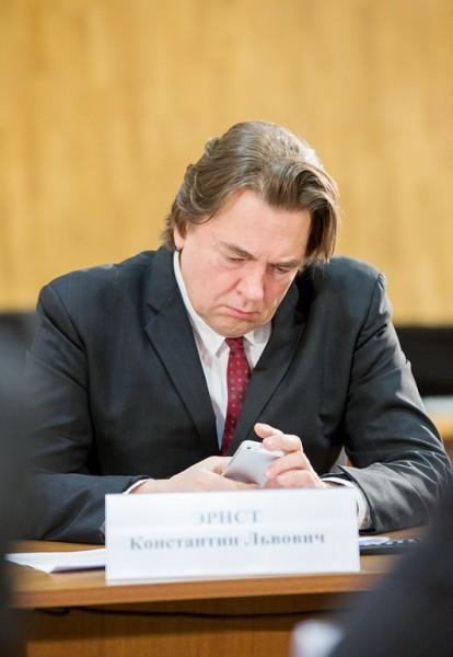Генеральный директор ОАО «Первый канал» Константин Эрнст